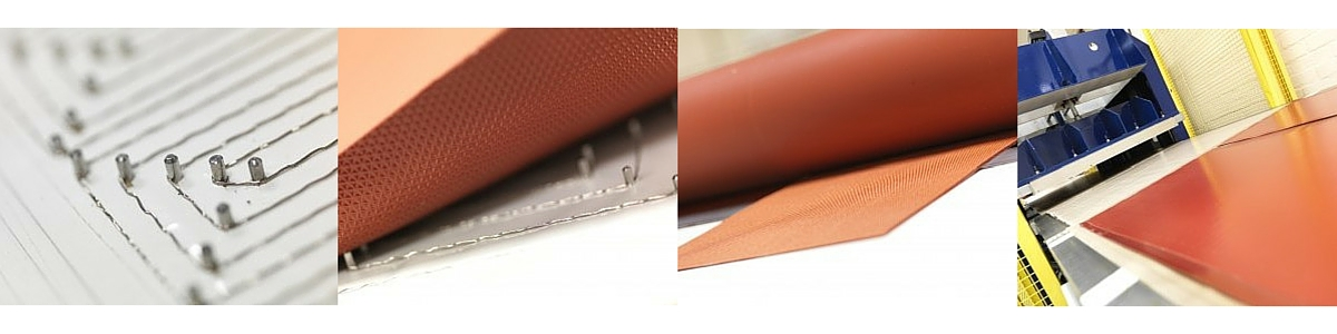 Silicone Heaters - Wire Wound Flexible Silicone Heaters