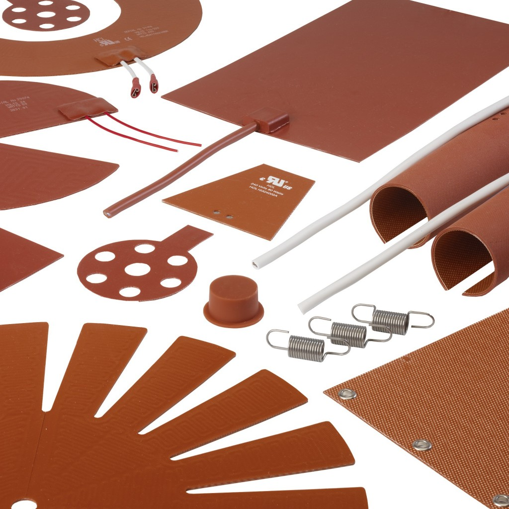 Silicone Heater Mats & Pads