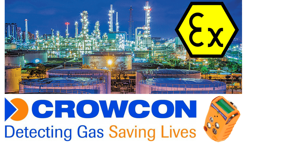 Crowcon Hazardous Area Gas Detection