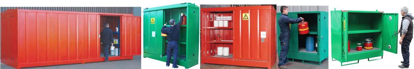 Empteezy Chemstor - Steel Indoor or Outdoor Chemical Stores
