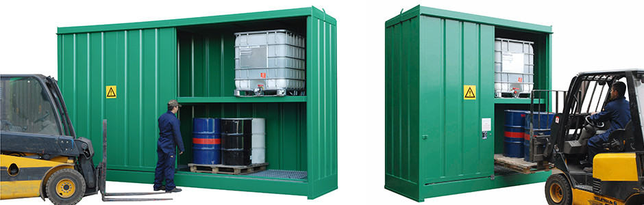 Empteezy - Drum & IBC Storage & Spill Containment & Control