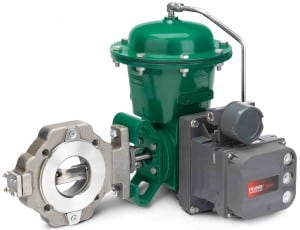 Fisher CV500 Rotary Control Valve
