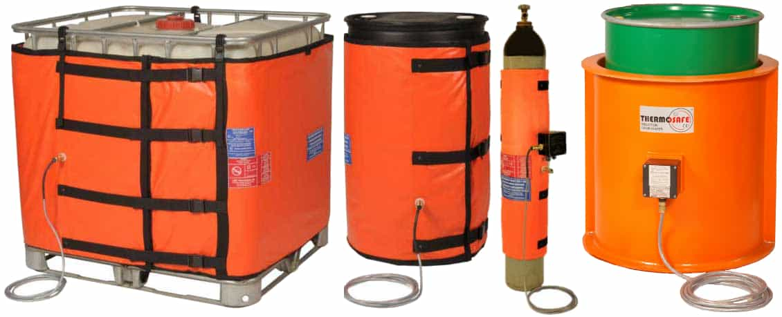 Hazardous Area Heaters - Drums IBC Gas Bottles