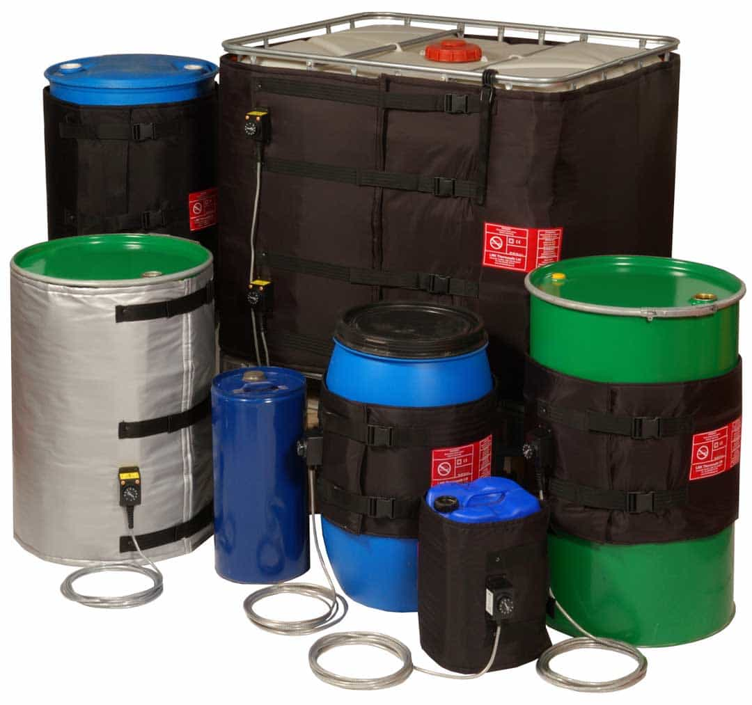 LMK Thermosafe Drum & IBC Heating Jackets