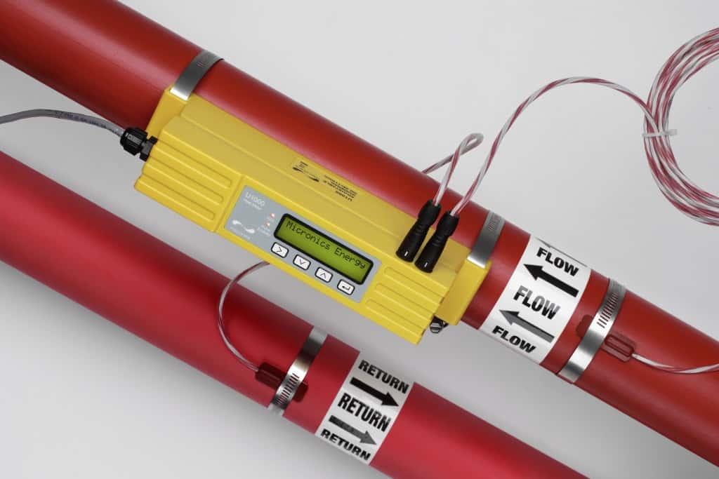 Micronics U1000 Fixed Clamp On Ultrasonic Flow Meter