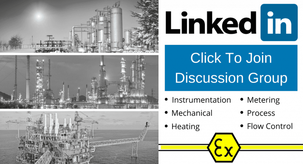Instrumentation, Mechanical, Heating, Metering, Process, Flow Control - Hazardous Areas