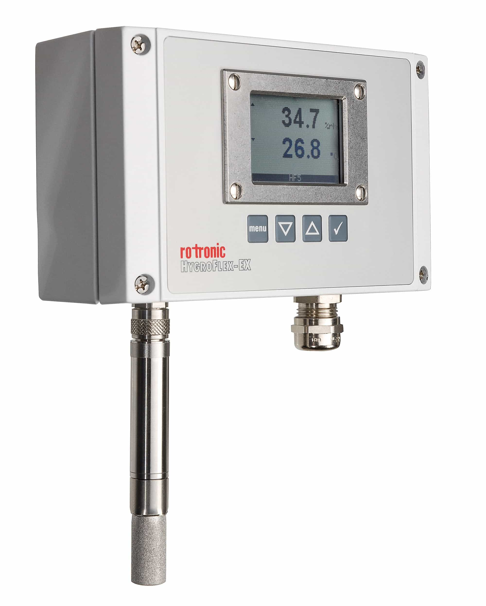 Rotronic HygroFlex5-EX: The ATEX Certified Temperature & Humidity Measurement Transmitter