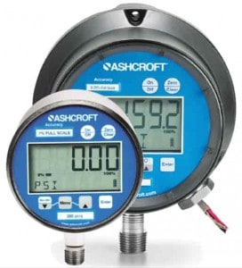 Ashcroft 2074 Digital Display Pressure Gauge