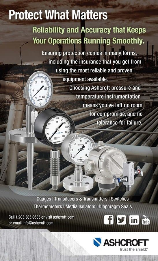 Ashcroft Pressure Gauges