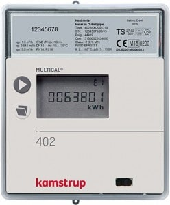 Kamstrup Multical 402 Heat Meter