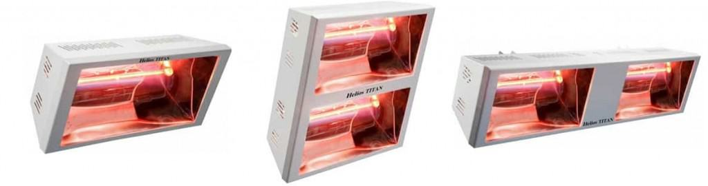 Star Progetti Helios Electric Short Wave Infrared Heaters