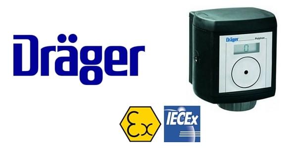 Drager Polytron 3000 Detector, Drager Fixed Gas Detector Polytron ...