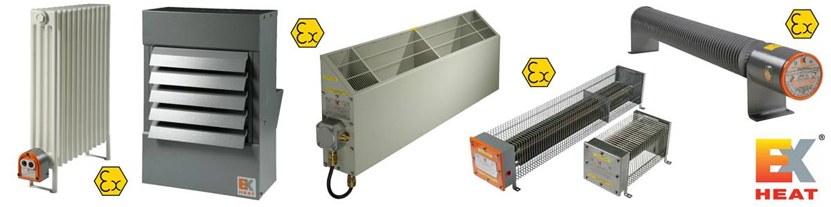 Air Heaters Air Warmers - Hazardous Area Zone 1 Zone 2 ATEX