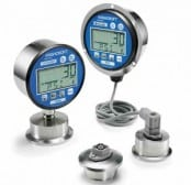 Ashcroft 2032 and 2036 Digital Sanitary Pressure Gauge