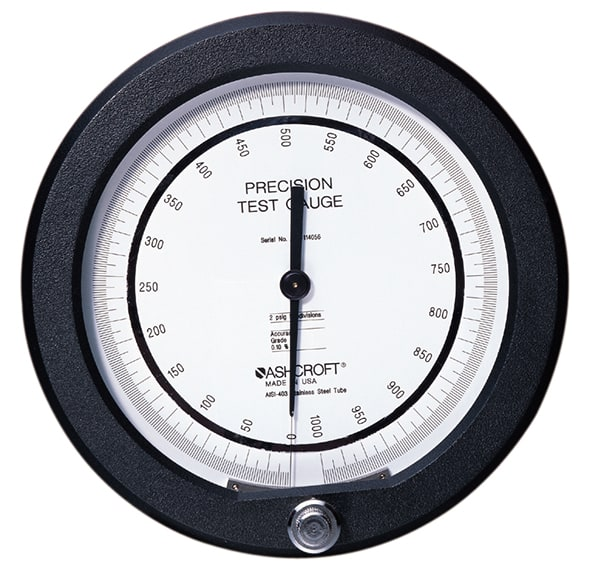 Precision Pressure Gauges : Ashcroft a precision pressure gauge process gauges