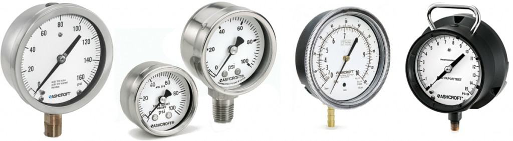 Ashcroft Industrial Pressure Gauges
