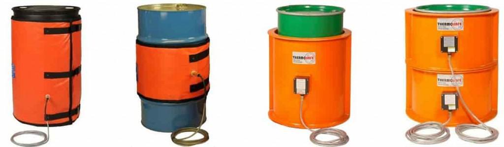 LMK Drum Heaters Suitable For Zone 1 Zone 2 Hazardous Areas With ATEX Certification