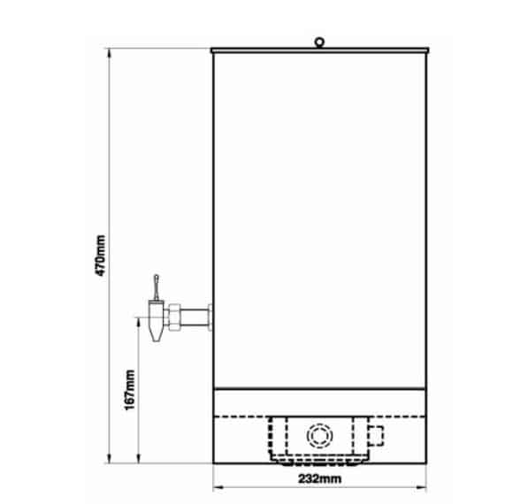 EXHEAT FP-U Hazardous Area Bulk Water Boiler