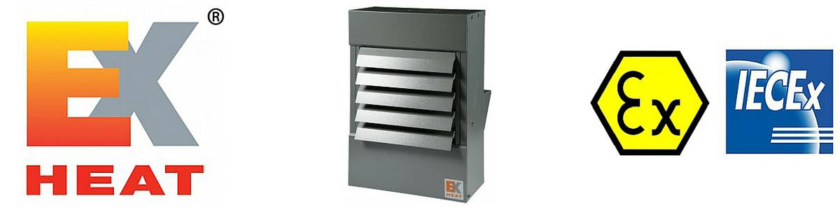 EXHEAT Hazardous Area Air Warmers ATEX & IECEx