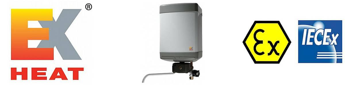 EXHEAT Hazardous Area Water Heaters ATEX & IECEx
