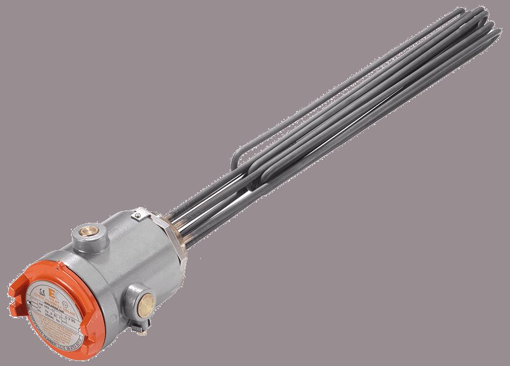 EXHEAT RFA Hazardous Area Flameproof Rod-Type Immersion Heater