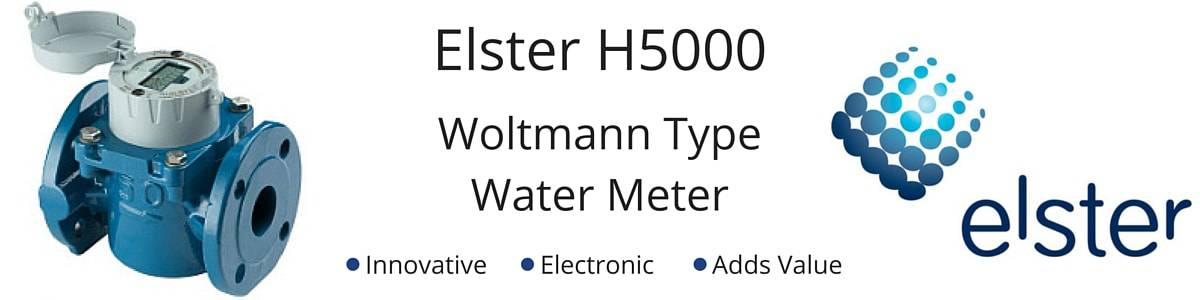 Elster H5000 Woltmann Type Water Meter