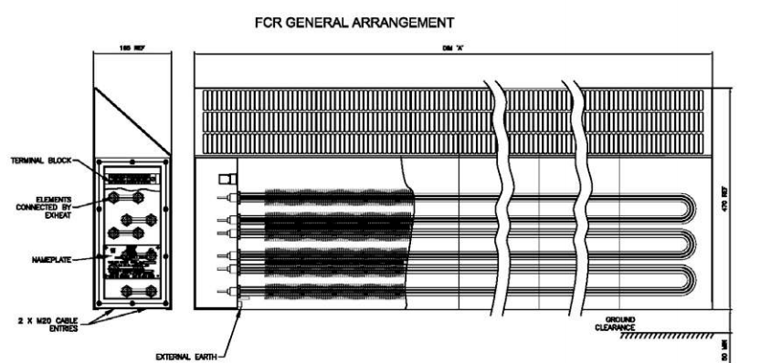 FCR General Arrangement