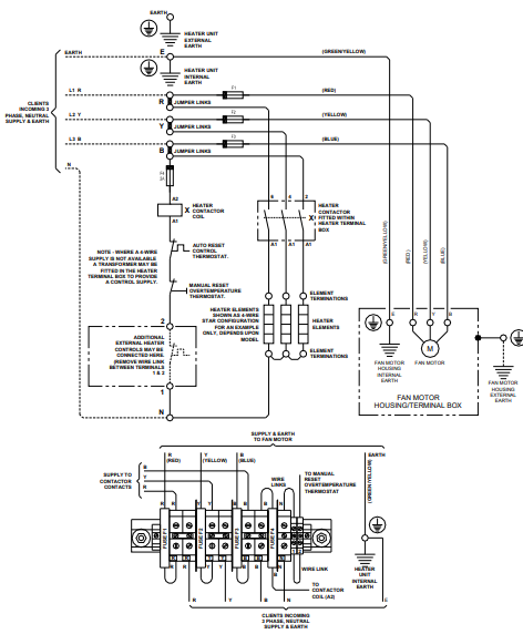 FUH Wiring Diagram