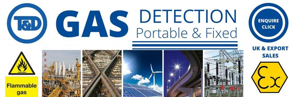 Gas Detectors Detection - Portable & Fixed (Crowcon)