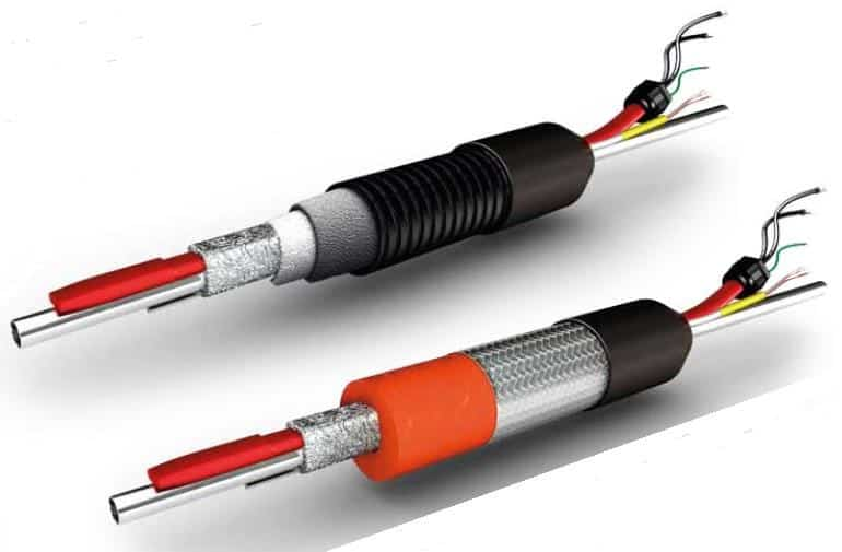 Heated sample lines (analytic hoses) ensure the transport of liquid and gaseous media without the loss of temperature.