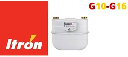 Itron Diaphragm Gas Meter ACD G10 - G16
