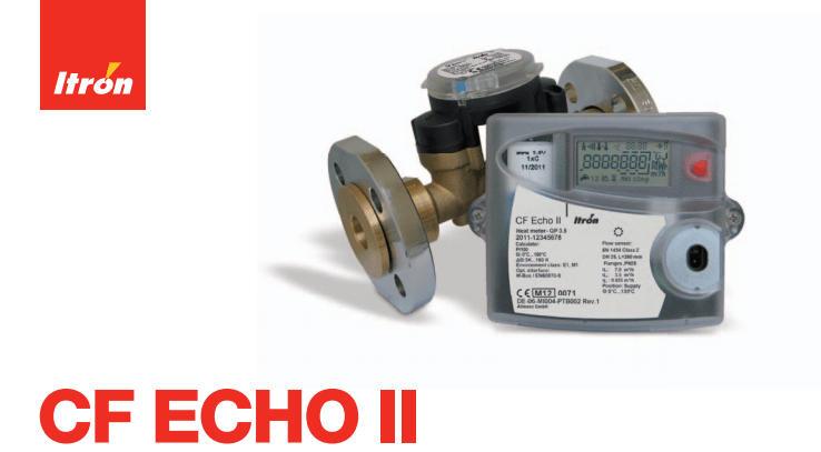 Itron Heat Meter - CF ECHO II Heating & Cooling Meter
