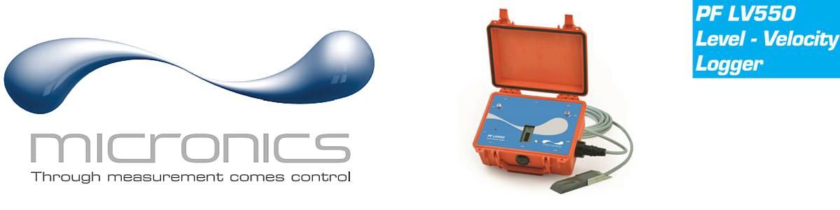 Micronics PF LV550 Portable Area / Velocity Meter