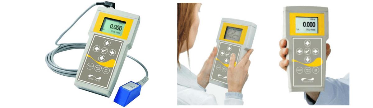 Micronics Portaflow D550 Portable Clamp-on Doppler Flow Meter