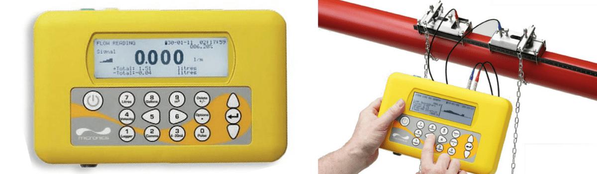 Micronics Portaflow PF330 Portable Clamp-on Flow Meter