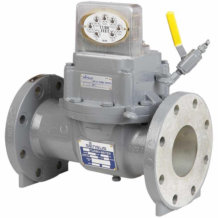 Sensus Gas Meters - Mark II Turbo Meters