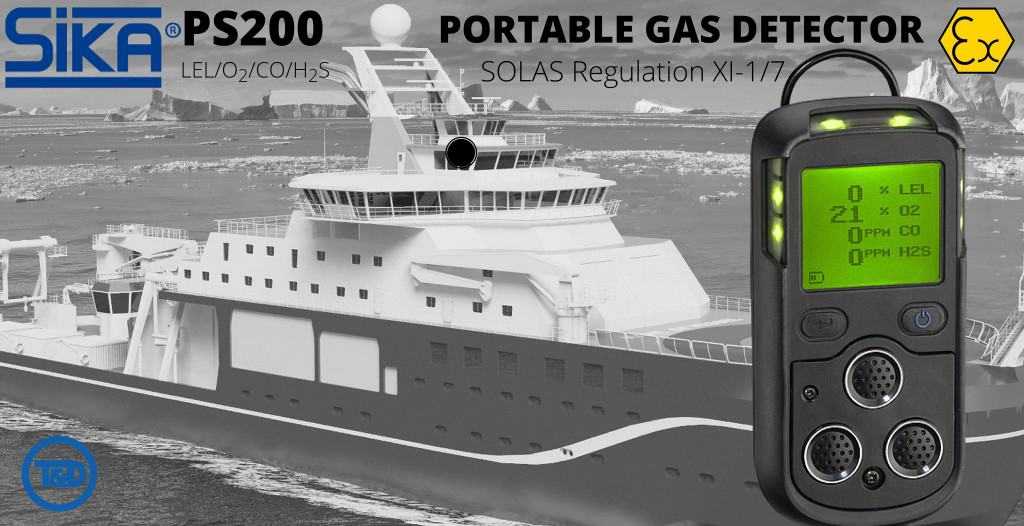 Sika PS200 Portable Gas Detector (ATEX IECex) SOLAS Regulation XI-17