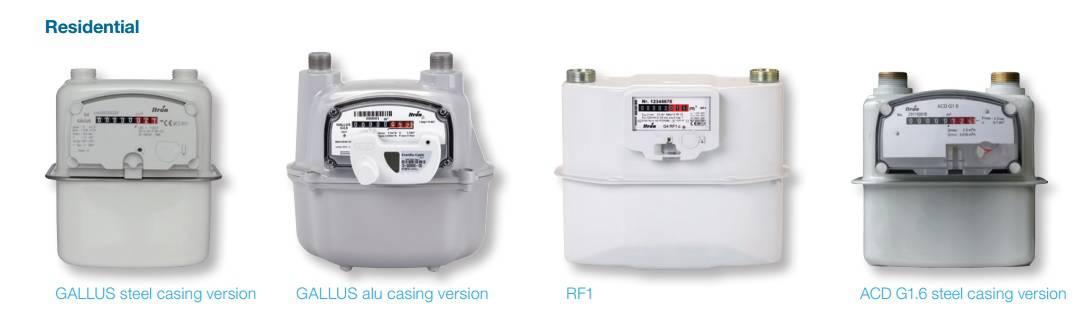 Smart Meters - Residential Gas Meters (Itron C) - Heating