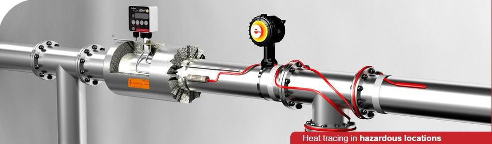 Eltherm Heat Tracing For Hazardous Areas