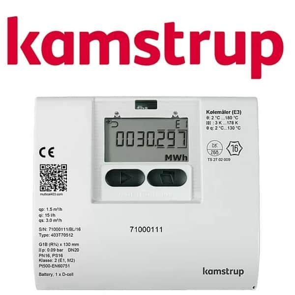 Kamstrup Multical 403 Heat Meter Ultrasonic Heat Meters
