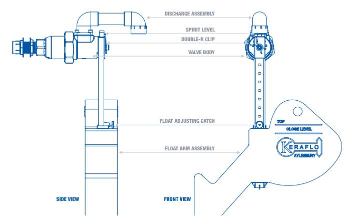 keraflo float valve aylesbury ks mm pipe diameter wras refer to the installation guide for correct installation of keraflo aylesbury k type float valves 20mm pipe diameter