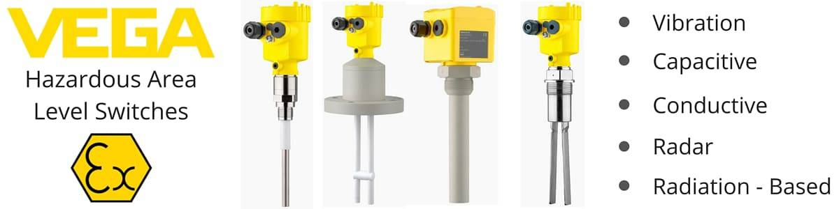 VEGA Hazardous Area Level Switches & Level Measurement