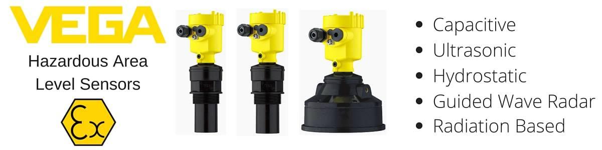 VEGA Ultrasonic Level Sensors For Hazardous Areas