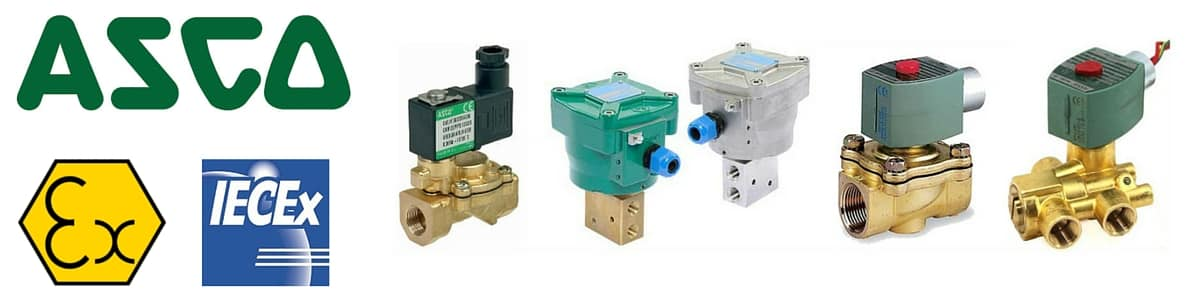ASCO - Hazardous Area Solenoid Valves