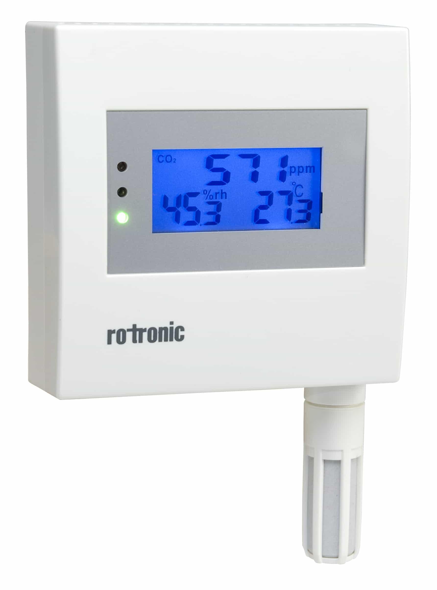 Carbon Dioxide Measurement Rotronic Instruments Probes