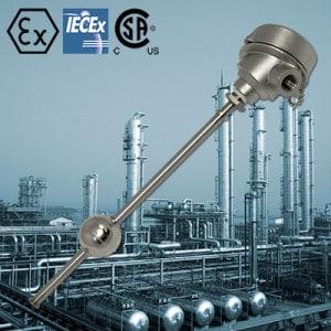 Deeter LVCS-FP Explosion & Flamepoof Sensor For Accurate Continuous Level Measurement For Hazardous Environment Applications