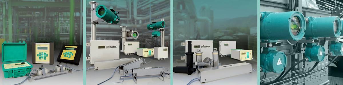 Flexim Flowmeters - Portable Permanent Gas Liquid Flowmeters & Ultrasonic Meters