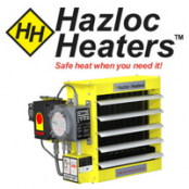 Hazloc Heaters AEU1 Explosion Proof Electric Air Heater – ATEX IECEx EAC Hazardous Areas