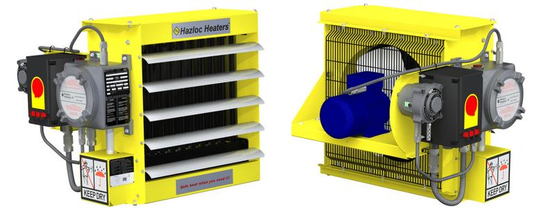 Hazloc Heaters - Hazardous Area Electrical Heating Equipment (ATEX IECEX CSA)