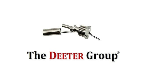 Horizontal Float Switch & Liquid Level Sensor (Stainless Steel) – Deeter 80 Series